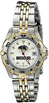 Missouri Tigers Women's All Star Watch Stainless Steel Bracelet