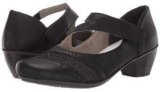 Rieker 41743-00 (Black) Women's Shoes