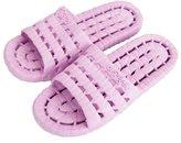 QZBAOSHU Men Women Bathroom Sippers Adut Bath Sides Sippers Shoes Sandes (:40-41, Purpe)