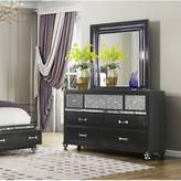 Everly Farquhar 7 Drawer Dresser with Mirror Quinn