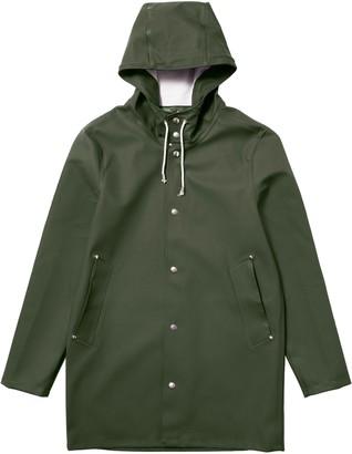 Stutterheim Green Womens Stockholm Raincoat - XXS - Green