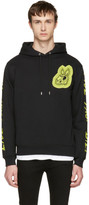 McQ Black 'Bunny Be Here Now' Clean Hoodie