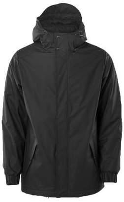 Rains Jackets - Unisex Quilted Parka Black - S/M / Negro