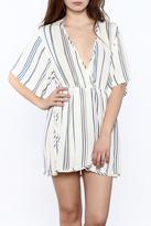 Lush Stripe Mini Dress