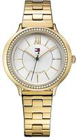 Tommy Hilfiger Gold Crystal Watch