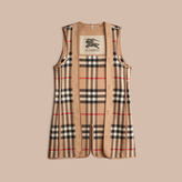 Burberry Kensington Fit House Check Wool Cashmere Warmer