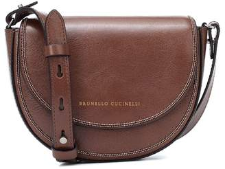 Brunello Cucinelli Kids Leather shoulder bag