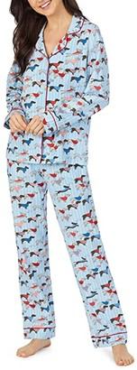 Bedhead Pajamas Long Sleeve Classic Pajama Set (Leader of the Pack) Women's Pajama Sets