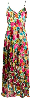 Alice + Olivia Christina Floral Maxi dress