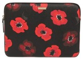 Kate Spade Poppy 13-Inch Laptop Sleeve - Black