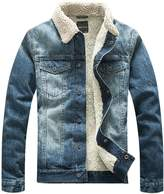 Kedera Men's Winter Wool Blend Casual Jacket Stand Collar Coat Outerwear