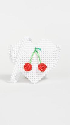 Susan Alexandra Ma Cherie Heart Crossbody
