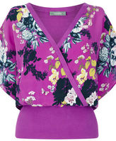 "Oasis BOTANICAL BOUQUET WRAP FRONT [span class=""variation_color_heading""]- Deep Pink[/span]"