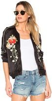 Blank NYC BLANKNYC Embroidered Bomber Jacket