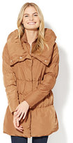 New York & Co. Stand-Collar Quilted Puffer Jacket