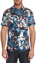 Robert Graham Printed Short-Sleeve Shirt