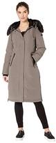 Sam Edelman Maxi Parka (Light Grey) Women's Coat