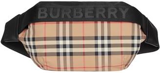 Burberry Check Print Logo Belt Bag