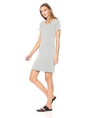 Daily Ritual Women's Jersey Short-Sleeve Scoop Neck T-Shirt Dress, XXL