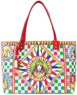 Dolce & Gabbana Sicilian Carretto Beatrice tote bag