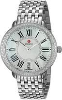 Michele Women's 'Serein' Swiss Quartz Stainless Steel Casual Watch