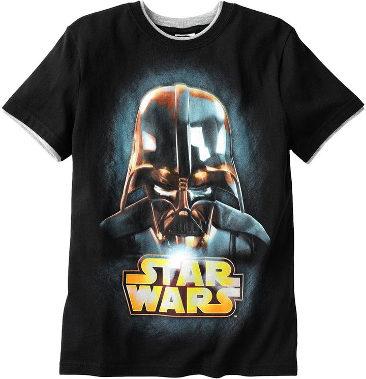 Star Wars Darth vader mock-layer tee - boys 8-20