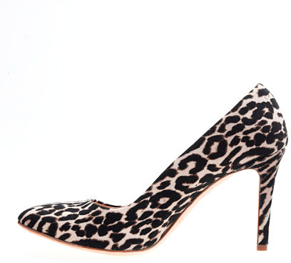 Sloane leopard pumps