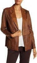 Insight Burnished Faux Suede Jacket