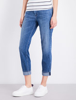 J Brand Johnny boyfriend-fit mid-rise jeans