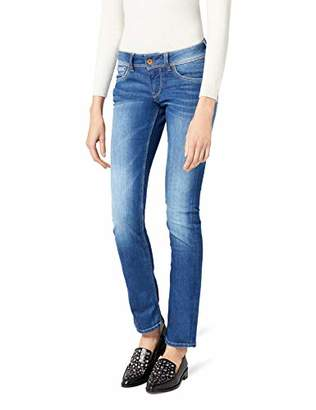 Pepe Jeans Women's Saturn Straight Leg Jeans, Blue (Denim), W30/L34