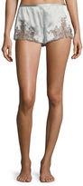 Josie Natori Lillian Lace Applique Shorts