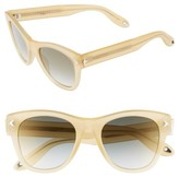 Givenchy Women's 51Mm Retro Sunglasses - Honey