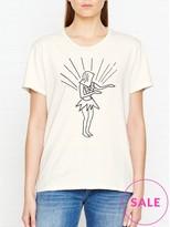 A Gold E AGOLDE Hula Girl T-Shirt