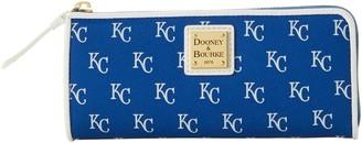 Dooney & Bourke MLB Royals Zip Clutch