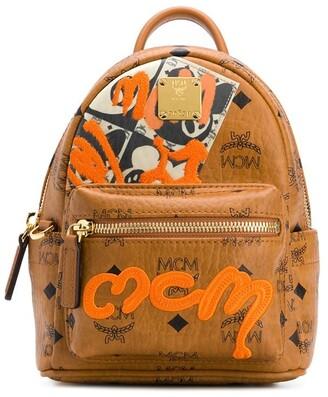 MCM Mini Graffiti Backpack