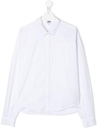 Karl Lagerfeld Paris TEEN long-sleeve shirt