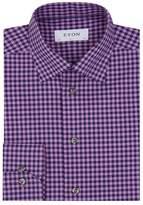 Eton Gingham Check Shirt