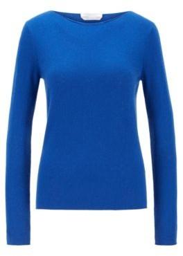 HUGO BOSS Slim-fit sweater in pure cashmere
