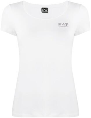 EA7 Emporio Armani short sleeve logo T-shirt