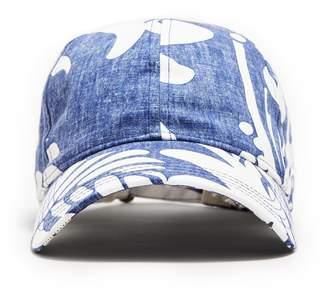 Reyn Spooner Todd Snyder + New Era Exclusive New Era + Dad Hat in Blue