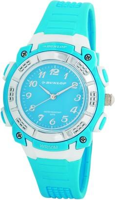 Dunlop Womens Analogue Quartz Watch with Plastic Strap DUN-243-L04