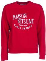 Kitsune Maison Palais Royal Print Sweatshirt