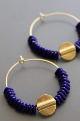 David Aubrey Thai Brass Earrings