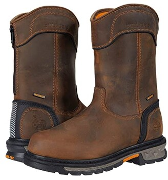 Georgia Boot Carbo-Tec LTX Waterproof Soft Toe 11 Pull-On (Brown) Men's Boots