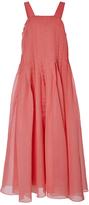 Tibi Watermelon Pleated Dress