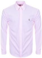 Ralph Lauren Oxford Knit Shirt Pink