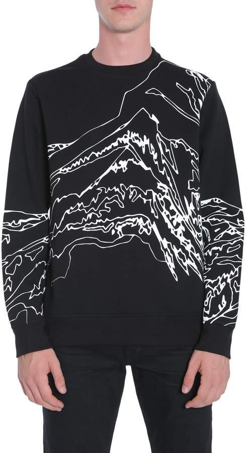 Diesel Black Gold Sneilb-land Sweatshirt