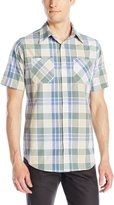Akademiks Men's Eli Plaid Buttondown Shirt