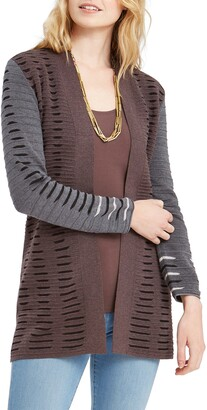 Nic+Zoe Crave Open Front Cardigan