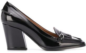 Emporio Armani Block Heel Loafers